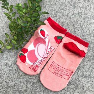 Harajuku style socks women's ankle